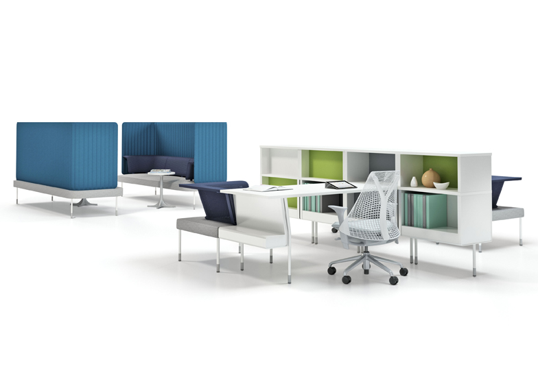 Public Office Landscape by Fuseproject for Herman Miller