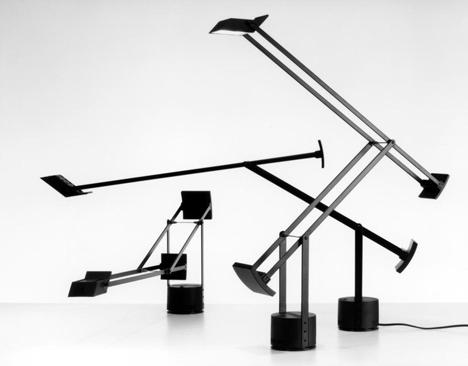 Job Desk Lamp: dezeen_Richard Sapper_Tizio desk lamp,Lighting