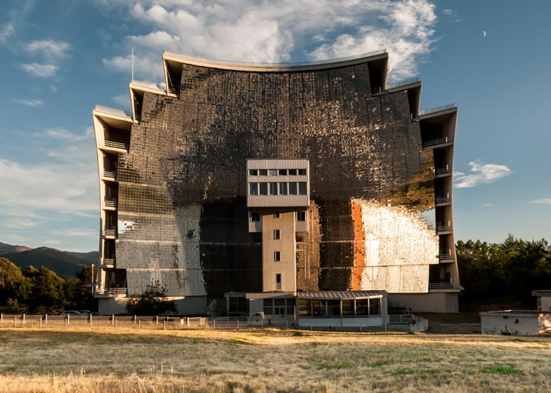 Odeillo Solar Furnace, France
