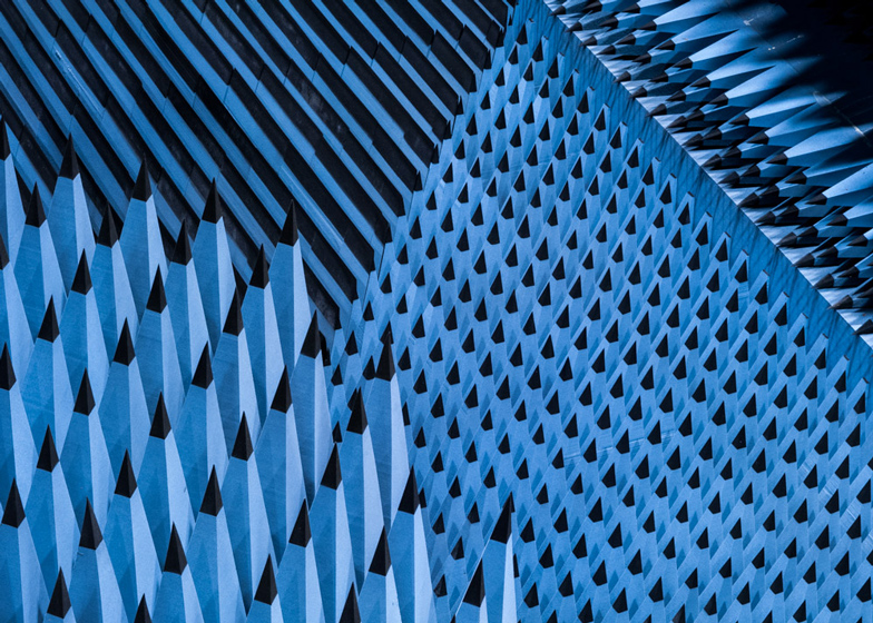 Radio Anechoic Chamber at the Technical University of Denmark, Copenhagen