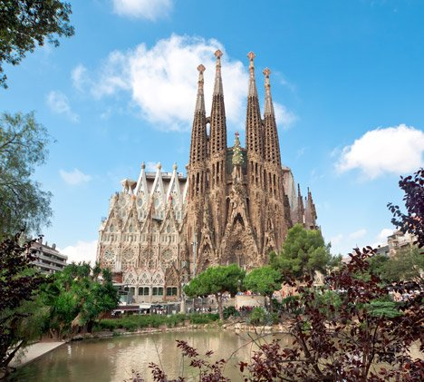 Sagrada Familia by Gaudi from Miguel/Shutterstock