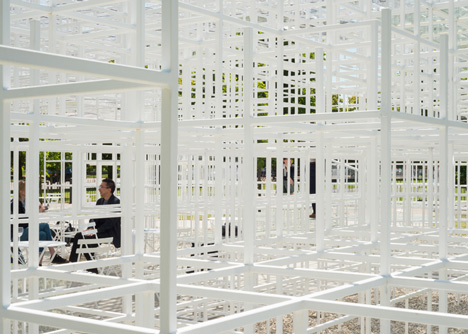 Photos of the Serpentine Gallery Pavilion 2013 by Sou Fujimoto
