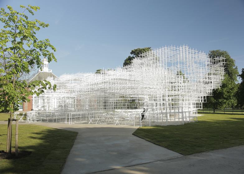Serpentine Gallery Pavilion 2013 by Sou Fujimoto opens