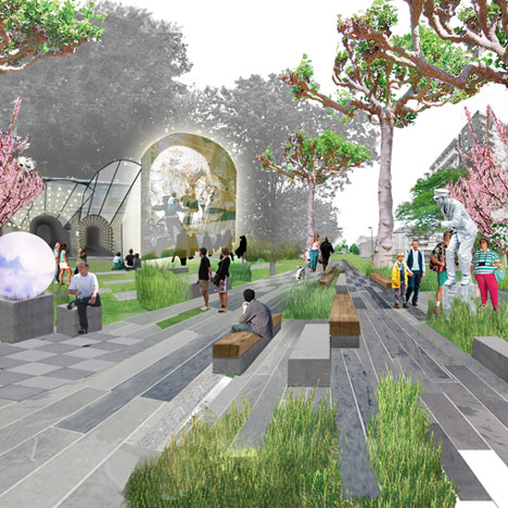 Green promenade to provide London's answer to New York's High Line