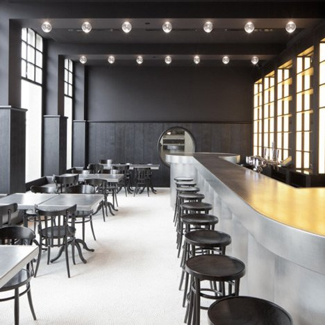 Volkshaus Basel Bar and Brasserie by Herzog & de Meuron