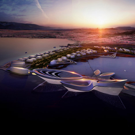Zaha Hadid plans lagoon-side park for Turkey's Expo 2020 bid