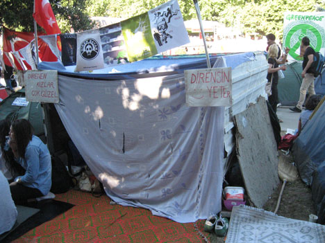 #OccupyGezi Architecture