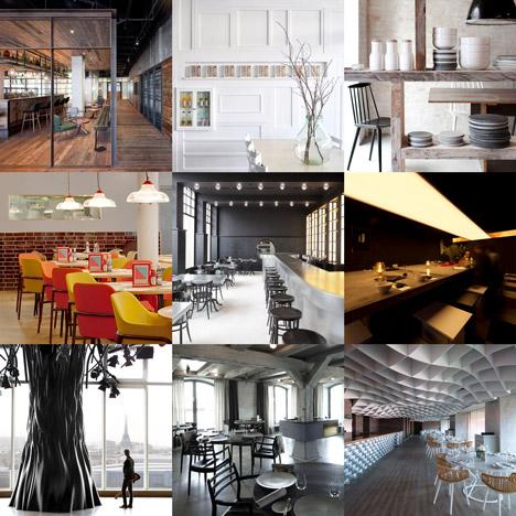 New Pinterest board: restaurants and bars