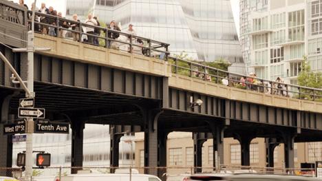 Stephen Burks on the High Line New York