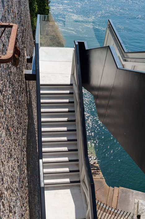 Coast Path Staircase by Gillespie Yunnie Architects