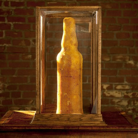 "Honeycomb vase designer says whisky campaign ""unabashedly exploits"" his work"
