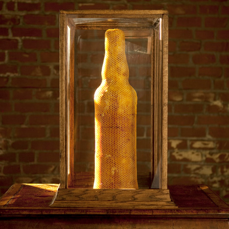 "Honeycomb vase designer says whisky campaign ""unabashedly exploits"" his work"