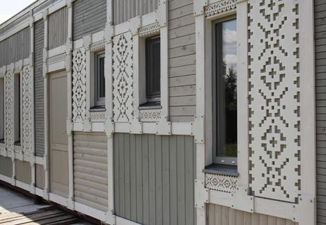 Deco Pattern House by Peter Kostelov