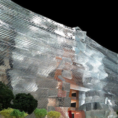 National Art Museum of China competition  entry by Gehry Partners