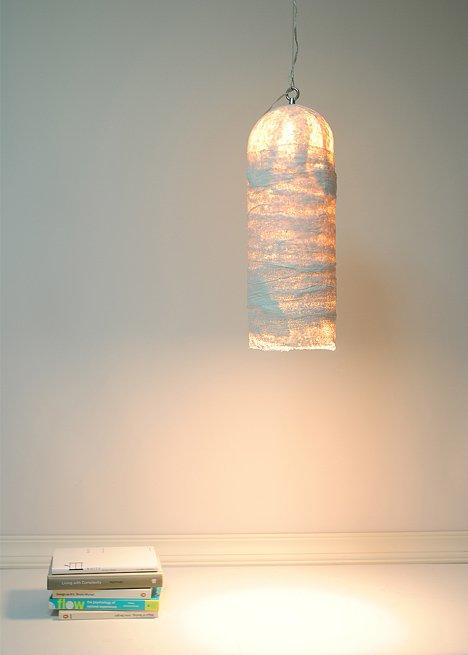 GIBS light made of bandages by Juyoung Kim