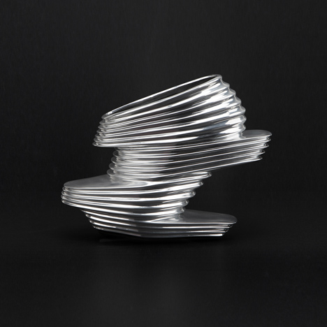 NOVA shoe by Zaha Hadid