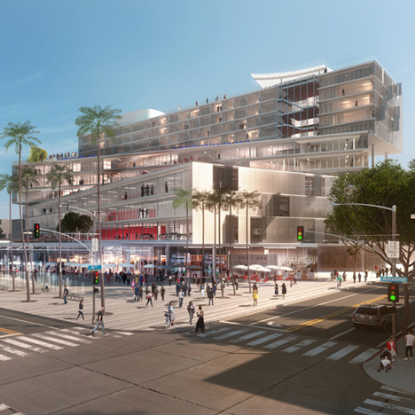 The Plaza at Santa Monica by OMA
