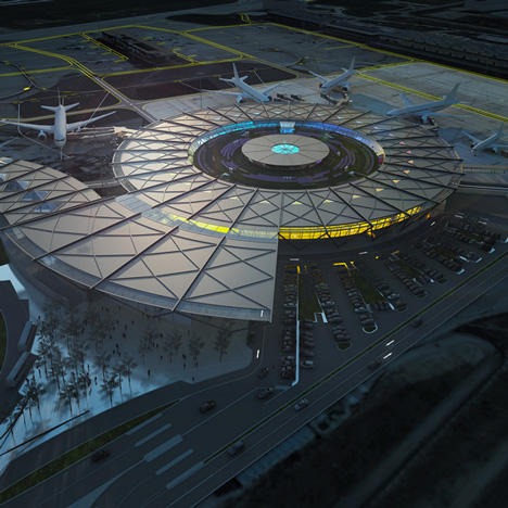 Rogers Stirk Harbour + Partners to design  terminal at Lyon-Saint Exupéry Airport