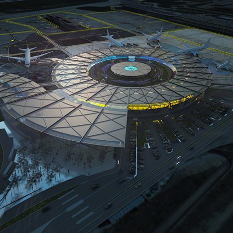 Rogers Stirk Harbour + Partners to design  terminal at Lyon-Saint Exupéry Airport