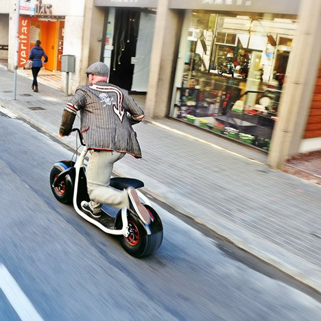 Scrooser electric scooter  gets funding boost