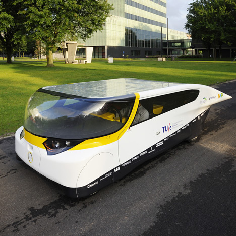 World's first solar-powered family car to race across Australia
