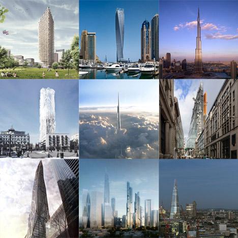 New Pinterest board: skyscrapers