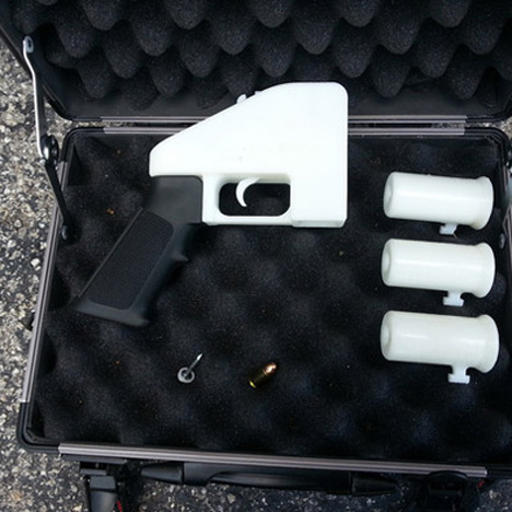 German police test 3D-printed gun