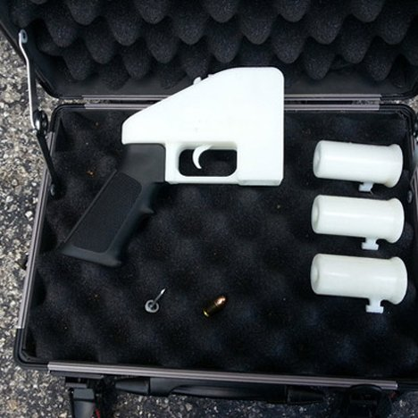 German police to test 3D printed gun