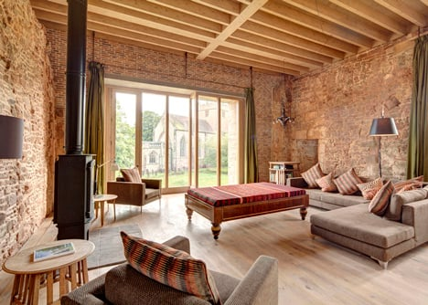 Astley Castle renovation by Witherford Watson Mann