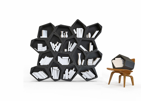 BUILD modular shelving by Movisi