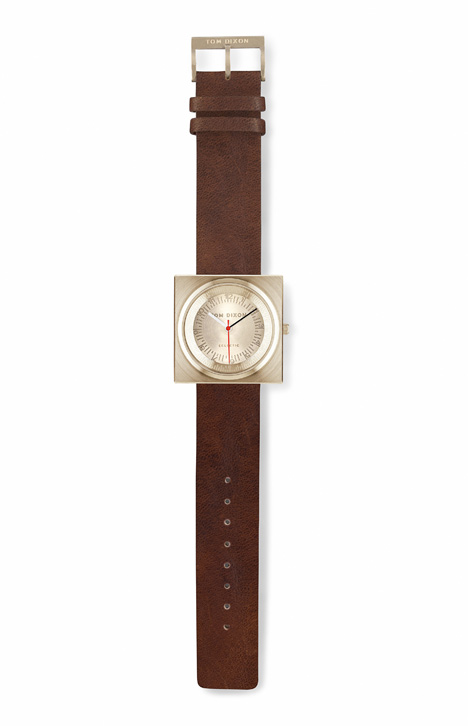 Block by Tom Dixon now available at Dezeen Watch Store