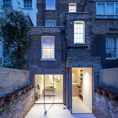 Chelsea Town House<br /> by Moxon Architects