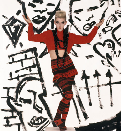Club to Catwalk: London Fashion in the 1980s exhibition at the V&A