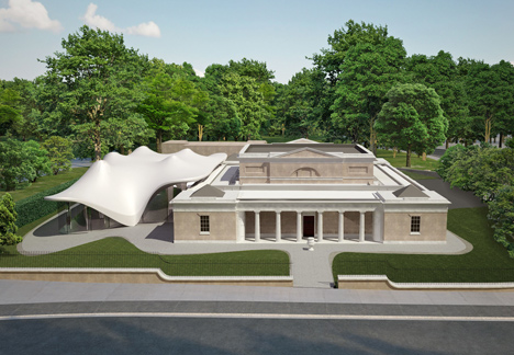 Completion date announced for Zaha Hadid's Serpentine Sackler Gallery