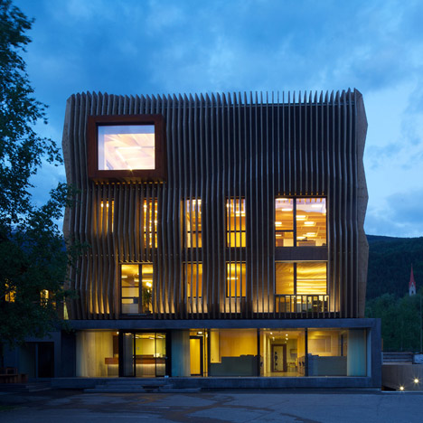 Damiani Holz&Ko Office Headquarters by MODUS architects