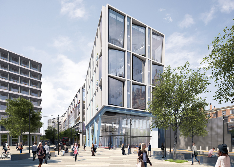 Google london office telephone number Interior Dezeen Ahmm Submits Plans For Googles New London Headquarters