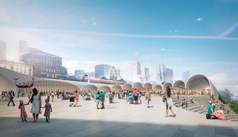 Flinders Street Station by Hassell + Herzog & de Meuron