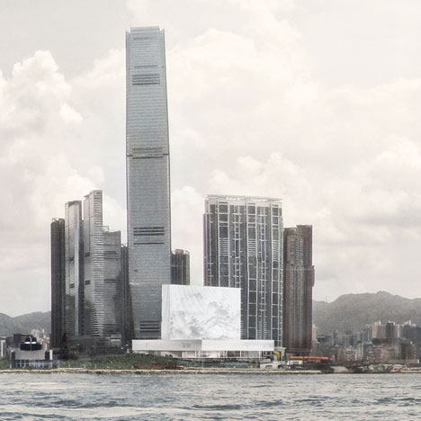 M+ Museum in Hong Kong designed by Herzog and de Meuron