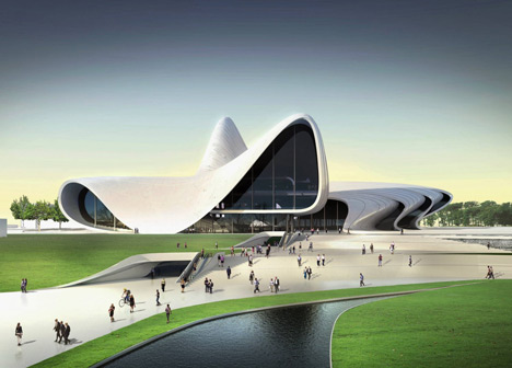 Heydar Aliyev Centre by Zaha Hadid Architects
