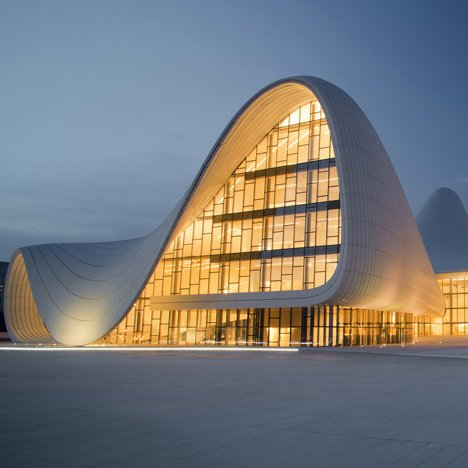 "Heydar Aliyev Center was ""an incredibly ambitious project"" says Zaha Hadid"