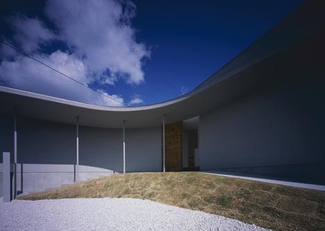 House in Naruto by Horibe Associates