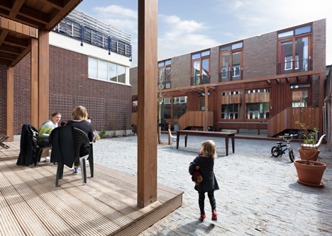 Housing Elandsstraat by Bastiaan Jongerius Architecten