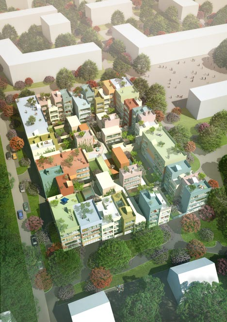 Housing in Emmen by MVRDV