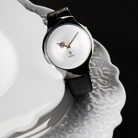 """I wanted to design a simple watch with an interesting surprise"" - Marcel Wanders"