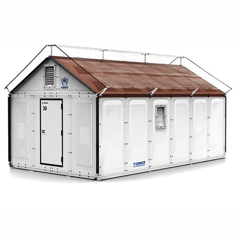 Ikea develops flat-pack refugee shelters