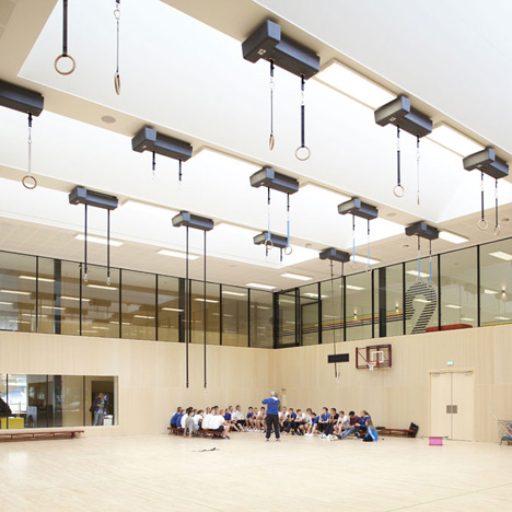 Fontys Sports College Netherlands - Mecanoo International b.v., Mecanoo architecten