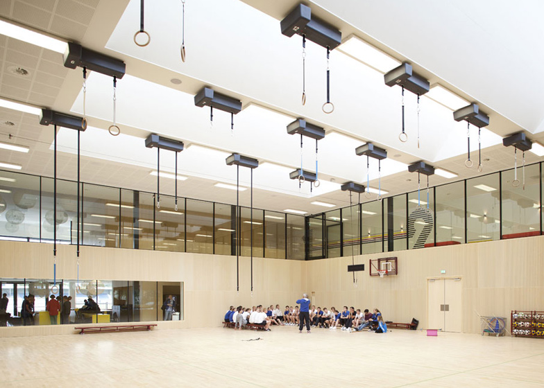 Fontys Sports College Netherlands by Mecanoo Architecten