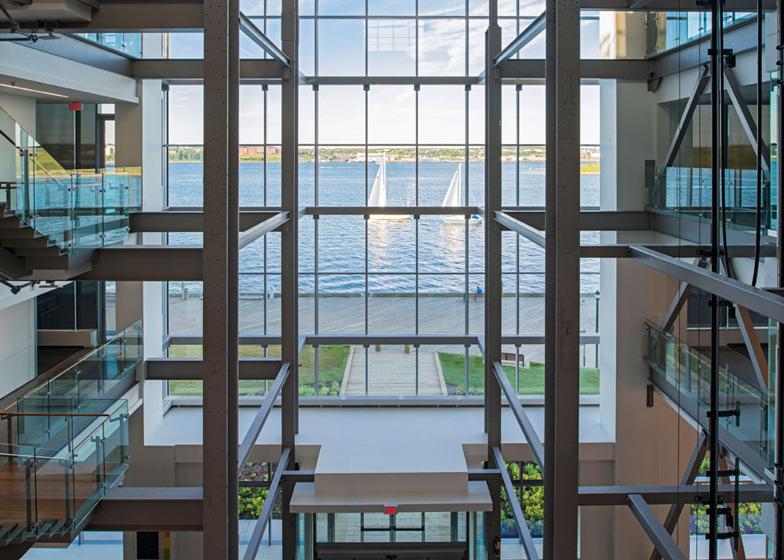 Nova Scotia Power Corporate Headquarters, Canada by WZMH Architects