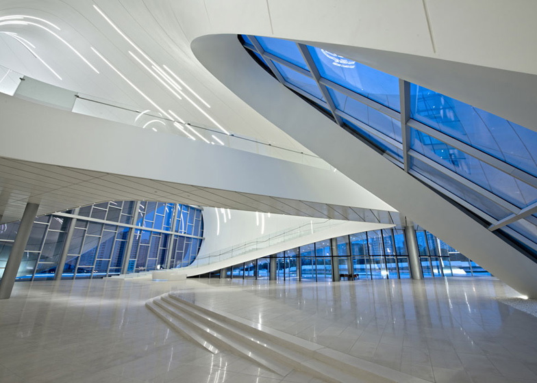 Heydar Aliyev Centre, United Kingdom by Zaha Hadid Architects