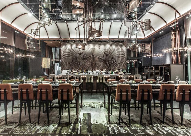 Ammo Bar and Restaurant, Hong Kong by WANG